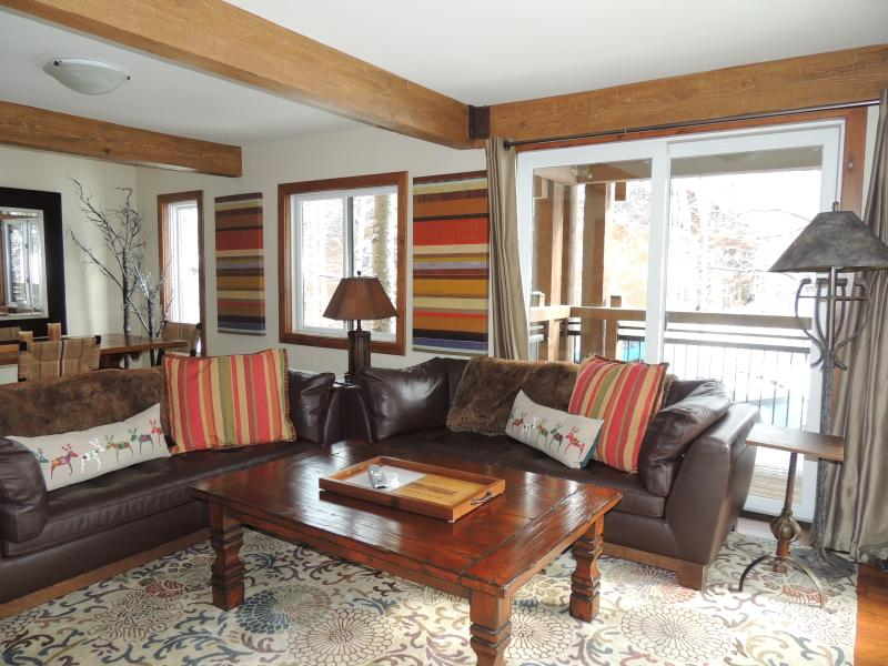 Living-room - Comfortable 3 Bedroom-3 Bathroom Condo in Aspen (Lift One - 306 - 3B/3B) - Aspen - rentals