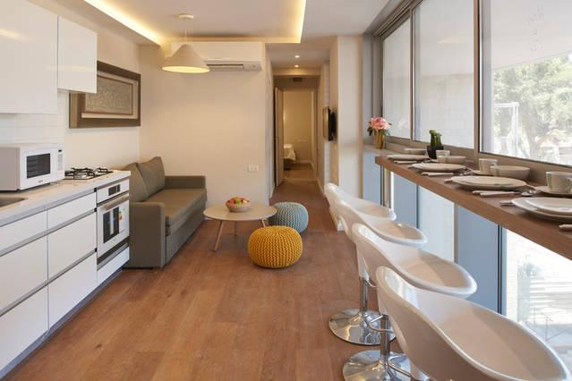 Living Room - Central, Brand New Building - Jerusalem - rentals