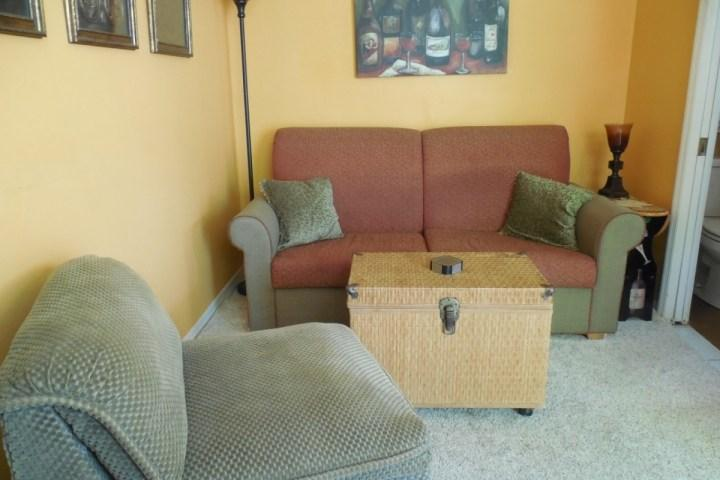 Living Area - The Hideaway Bungalow - Fort Myers Beach - rentals