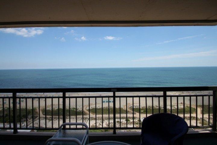 16th Floor Ocean Side Condo w/Pool, Elevator, Ocean & Bay Balconies, Steps from the Beach@ 118th St. - Image 1 - Ocean City - rentals