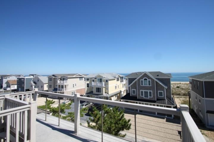 Ocean View from the Roof Top Deck - 2 South 4th St. South Bethany Beach. Ocean Block, Ocean View Deck, Sleeping 8 - Bay View Park - rentals