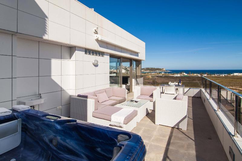 Casa Yole,penthouse with sea view,outdoor minipool - Image 1 - Ibiza - rentals