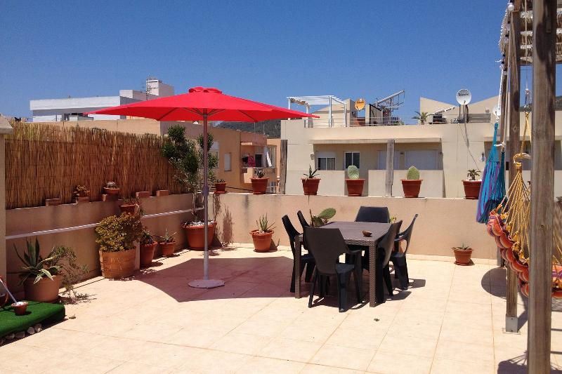 Casa Mia,large terrace apartment at few steps from the beach - Image 1 - Sant Josep De Sa Talaia - rentals