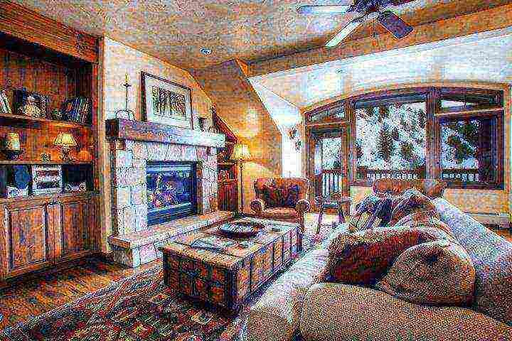 """Warm living space with full size sofa sleeper, stereo, 60"""" flat screen TV/Blu Ray DVD, gas fireplace and deck with gas grill and seating for 2. - Arrowhead Alpine Club Condo, YR Rnd Hot Tub & Heated Pool, AC in Summer, Ski In/Ski Out in Winter! - Edwards - rentals"""