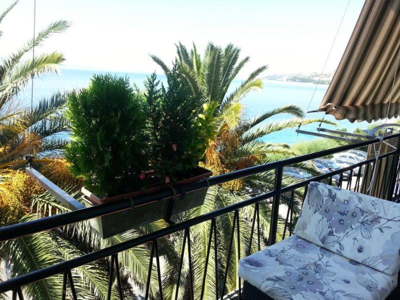 A1(2+2): terrace view - 4117 A1(2+2) - Omis - Central Dalmatia - rentals