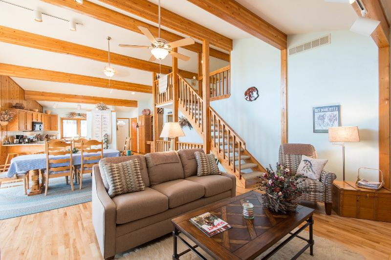 Living Room - Haus Bergwald  nestled on the side of Peak 7 - Breckenridge - rentals