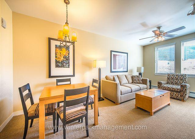 Walk to the slopes from this Founders Point one bedroom. Sleeps 4. - Image 1 - Winter Park - rentals