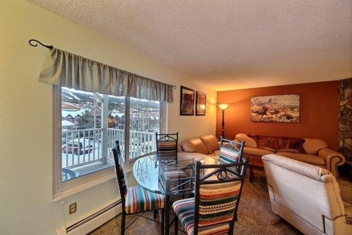 The Ultimate Location and View in this Large 2 Bedroom - Up to 40% OFF thru 4/23 - On Main St.-300 yds to Quicksilver Lft! HOT - Breckenridge - rentals