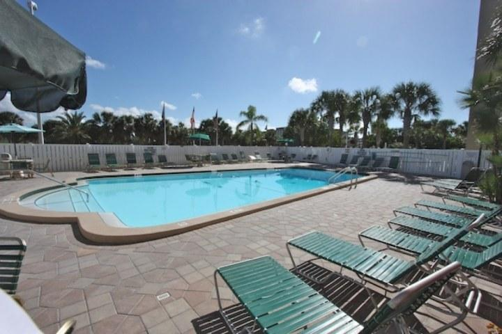 Heated Communal Pool with Grilling Station On Site - 214 Holiday Villas II - Indian Shores - rentals