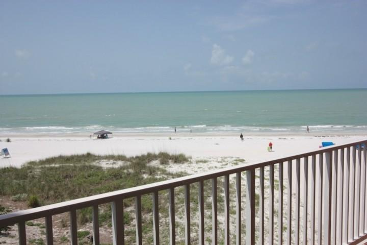 View from your private balcony - 1307 Beach Cottages - Indian Shores - rentals