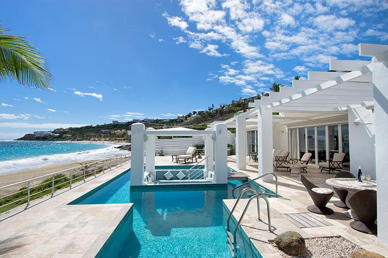 Ginger at Coral Beach Club, Dawn Beach, St Maarten - GINGER at Coral Beach Club... Beautiful 3 BR Beachfront Villa right on Dawn - Dawn Beach - rentals