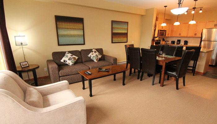 Wonderful, spacious living area - Canmore Lodges 2 Bedroom Premium Condo - Canmore - rentals