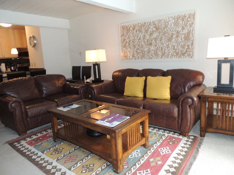 Living-room - Beautiful Condo with 2 BR & 2 BA in Aspen (Perfect Condo in Aspen (Lift One - 207 - 2B/2B)) - Aspen - rentals