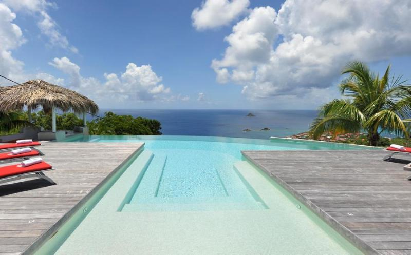 Spacious Living with ocean views - Image 1 - Gustavia - rentals