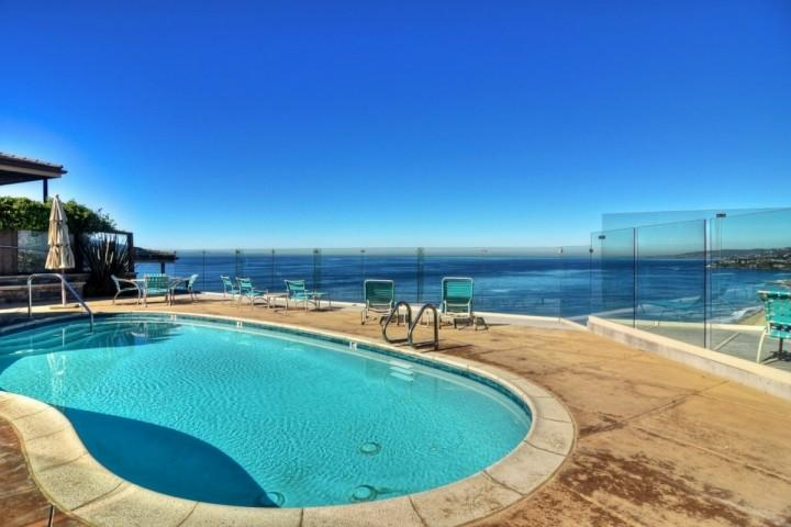 Pool shared by only 8 units - Dana Strand Oceanfront Condo - Dana Point - rentals
