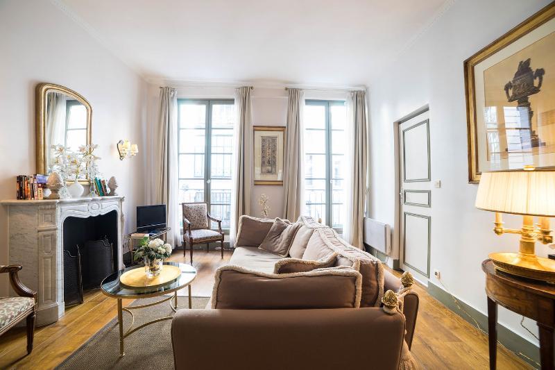 Living Room - Grand Honoré:Wonderful 2BD rue Saint Honoré 5 People - Paris - rentals