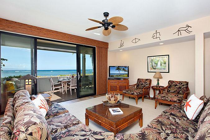 Unit 19 Ocean Front Prime Luxury 3 Bedroom Condo - Image 1 - Lahaina - rentals