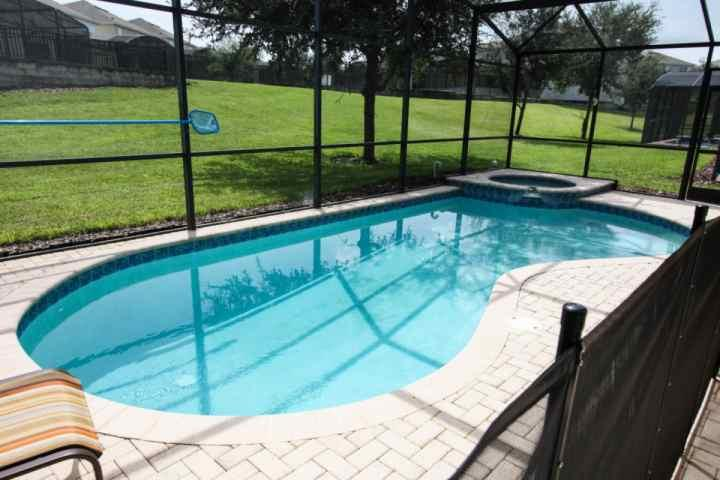 Private pool and spa, spaceous back yard - 2624 Windsor Hills - Kissimmee - rentals