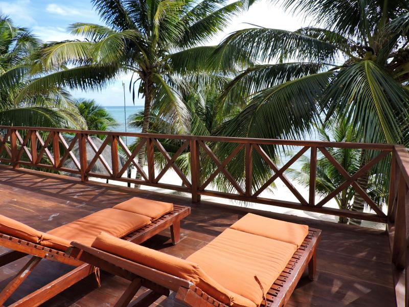 7th Heaven, beautiful beachfront property - Image 1 - Tulum - rentals