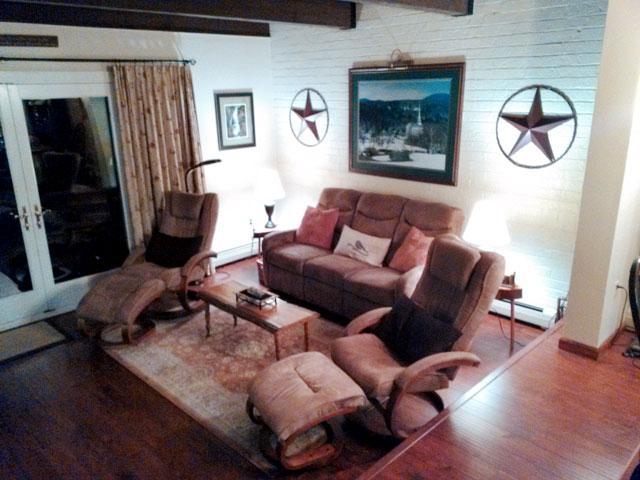 Living Room - Fox Hill Condo 44 - Stowe - rentals