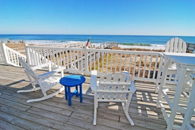 Dave's Beach House- Beautiful 6 Bedroom Oceanfront House - Image 1 - Kure Beach - rentals