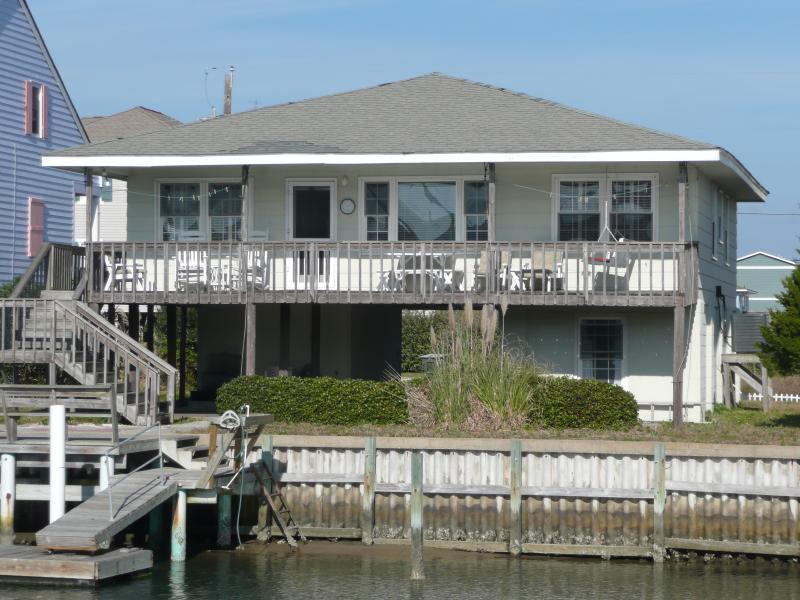 Canal Front - Canal Front, 5 bedroom house w/ Private dock - Topsail Beach - rentals