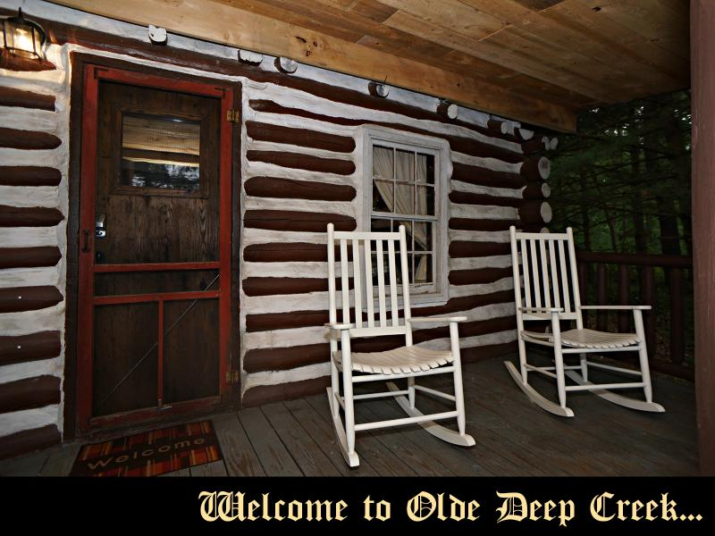 These Rocking Chairs are Calling You to Sit and Stay Awhile - Olde Deep Creek - 3rd Night Free! - Oakland - rentals