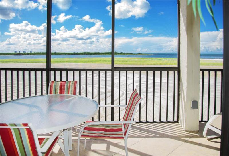 Carlos Pointe 236, 2 Bedrooms, Gulf Front, Elevator, Heated Pool, Sleeps 6 - Image 1 - Fort Myers Beach - rentals