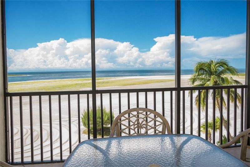 Carlos Pointe 413, 2 Bedrooms, Gulf Front, Elevator, Heated Pool, Sleeps 6 - Image 1 - Fort Myers Beach - rentals