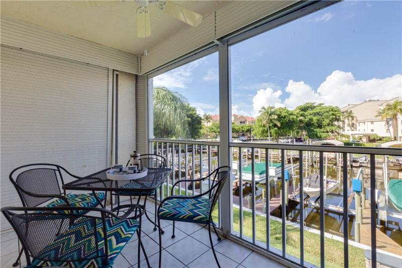 Royal Pelican 184, 2 Bedrooms, Canal View, Elevator, Heated Pool, Sleeps 4 - Image 1 - Fort Myers Beach - rentals