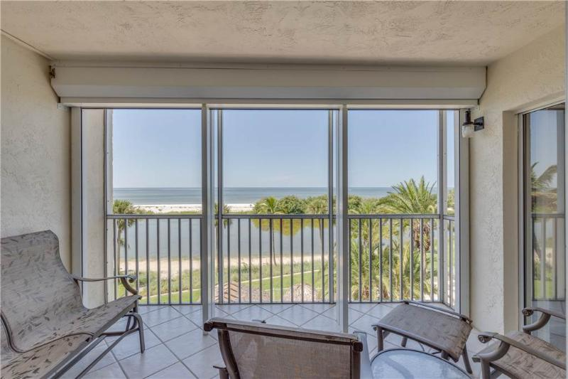 Sun Caper 308, 2 Bedrooms, Gulf Front, Elevator, Heated Pool, Sleeps 4 - Image 1 - Fort Myers Beach - rentals