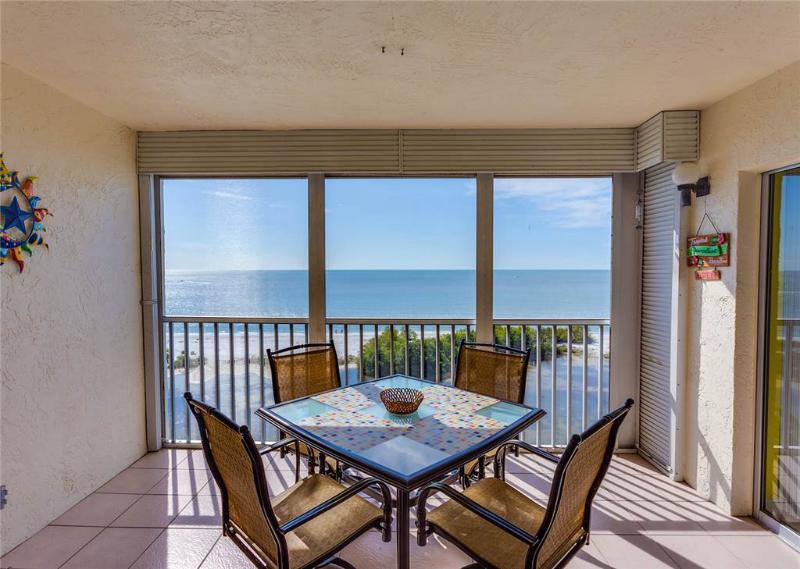 Sun Caper 808, 2 Bedrooms, Gulf Front, Elevator, Heated Pool, Sleeps 4 - Image 1 - Fort Myers Beach - rentals