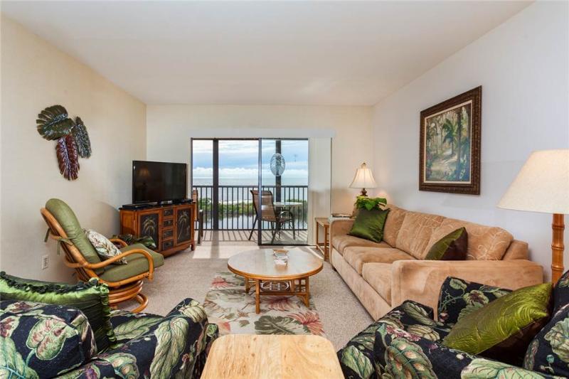 Terra Mar 706, 2 Bedroom, Gulf Front, Elevator, Heated Pool, Sleeps 6 - Image 1 - Fort Myers Beach - rentals