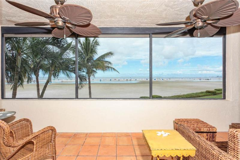 Sandarac A201, 2 Bedrooms, Gulf Front, Elevator, Heated Pool, Sleeps 6 - Image 1 - Fort Myers Beach - rentals