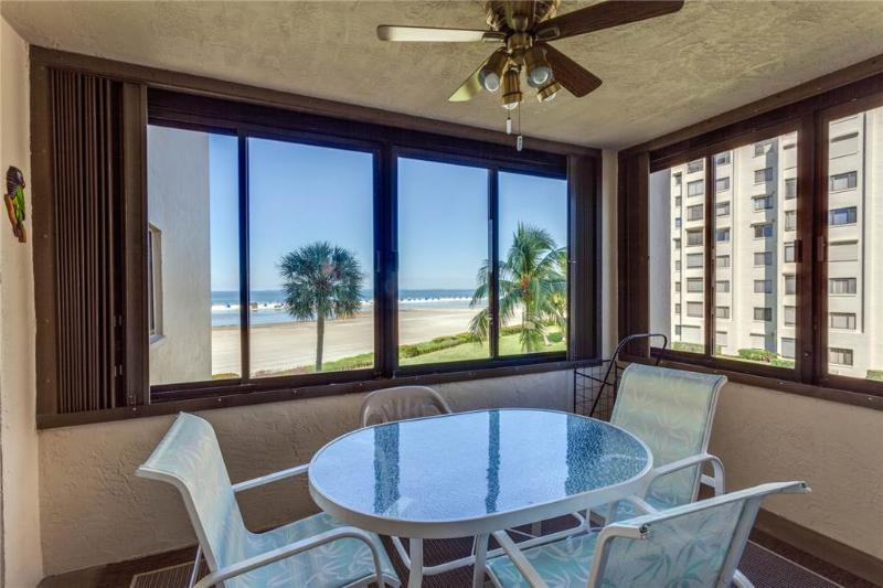 Sandarac A302, 3 Bedrooms, Gulf Front, Elevator, Heated Pool, Sleeps 6 - Image 1 - Fort Myers Beach - rentals