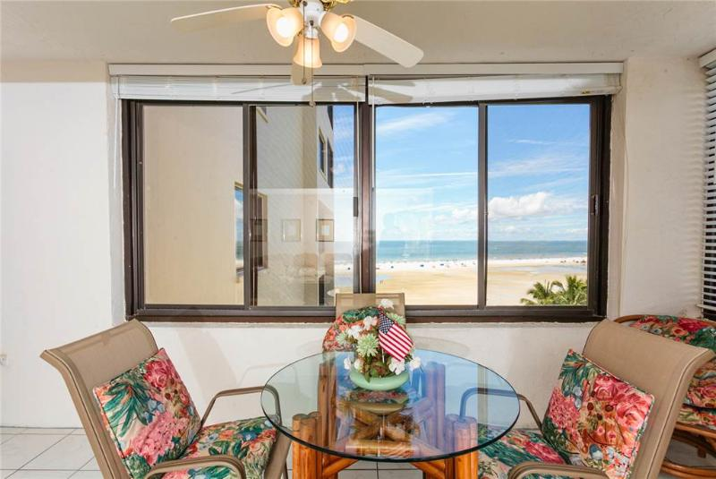 Sandarac A703, 2 Bedrooms, Gulf Front, Elevator, Heated Pool, Sleeps 6 - Image 1 - Fort Myers Beach - rentals