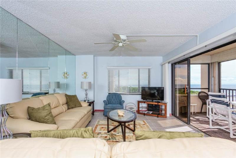 Sandarac B609, 2 Bedrooms, Gulf Front, Elevator, Heated Pool, Sleeps 4 - Image 1 - Fort Myers Beach - rentals