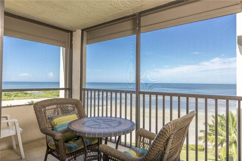 Sandarac B710, 2 Bedrooms, Gulf Front, Elevator, Heated Pool, Sleeps 6 - Image 1 - Fort Myers Beach - rentals