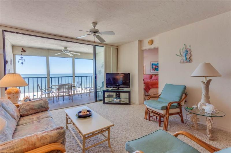 Sunset 1101, 2 Bedrooms, Gulf Front, Elevator, Heated Pool, Sleeps 6 - Image 1 - Fort Myers Beach - rentals