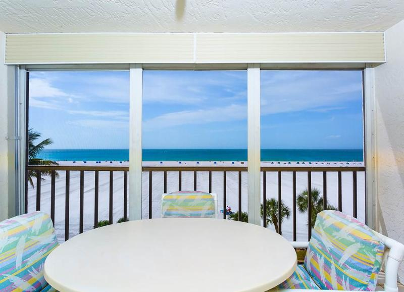 Sunset 403, 2 Bedrooms, Gulf Front, Elevator, Heated Pool, Sleeps 6 - Image 1 - Fort Myers Beach - rentals