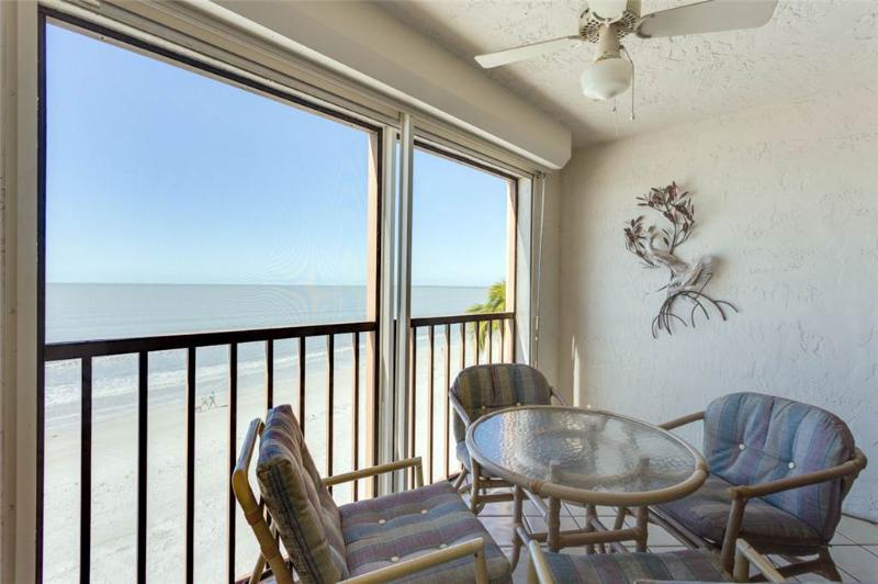 Cascades #402, Gulf Front, 3 Bedrooms, Elevator, Heated Pool, Sleeps 6 - Image 1 - Fort Myers Beach - rentals