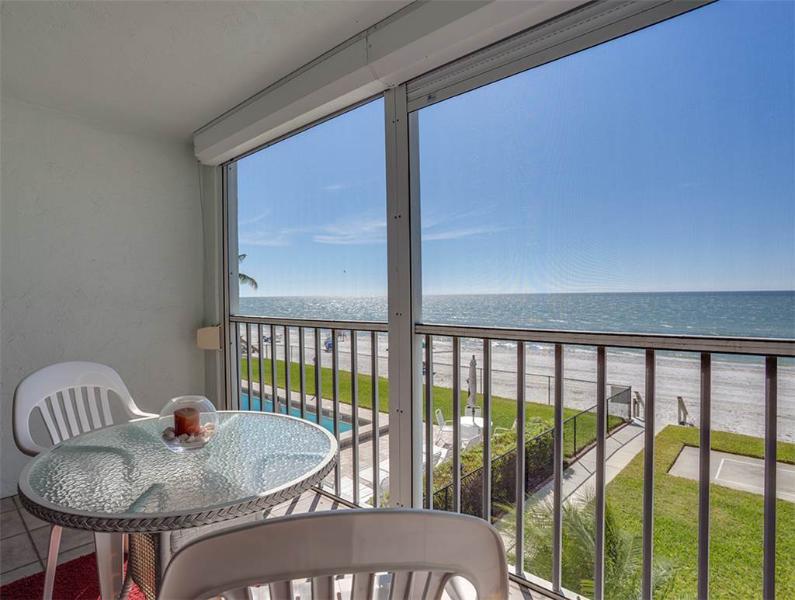 Strandview Tower 203, 2 Bedrooms, Beach Front, Pool, Elevator, Sleeps 4 - Image 1 - Fort Myers Beach - rentals