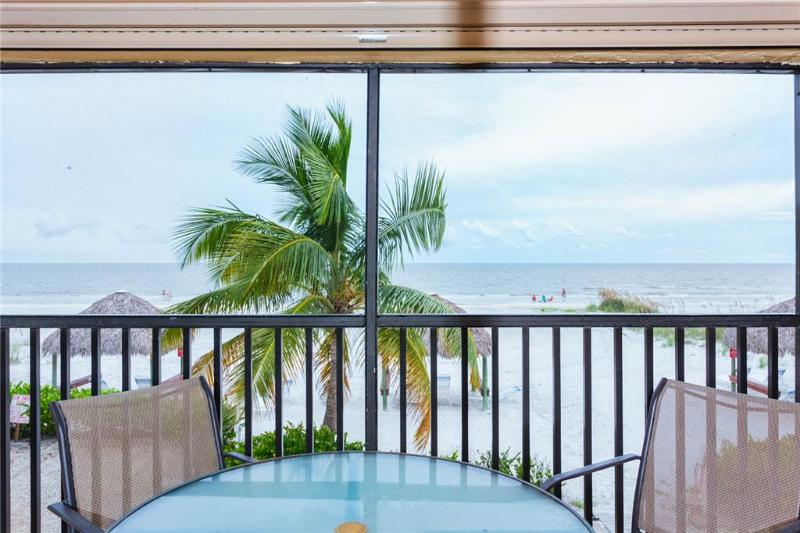 Estero Sands 103, 2 Bedrooms, Gulf Front, Elevator, Heated Pool, Sleeps 4 - Image 1 - Fort Myers Beach - rentals