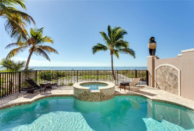 La Casa Bonita, 5 Bedrooms, GulfFront,Heated Pool, Elevator, Spa, Sleeps 10 - Image 1 - Fort Myers Beach - rentals