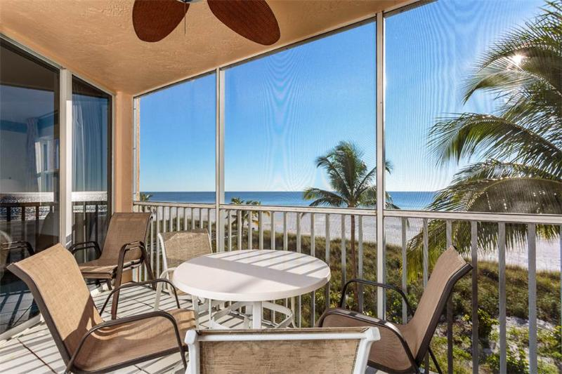 Estero Island Beach Villas 204, 2 Bedrooms, Gulf Front, Heated Pool - Image 1 - Fort Myers Beach - rentals