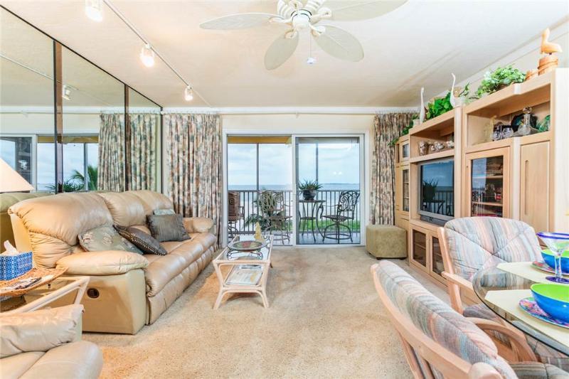 Vacation Villas 235, 2 Bedroom, Gulf Front, Elevator, Heated Pool, Sleeps 4 - Image 1 - Fort Myers Beach - rentals
