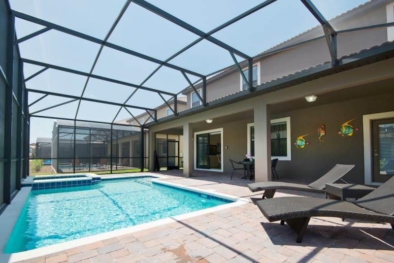 Lavish Villa, Champion's Gate, 5 Bedrooms, Private Pool, Sleeps 10 - Image 1 - Davenport - rentals