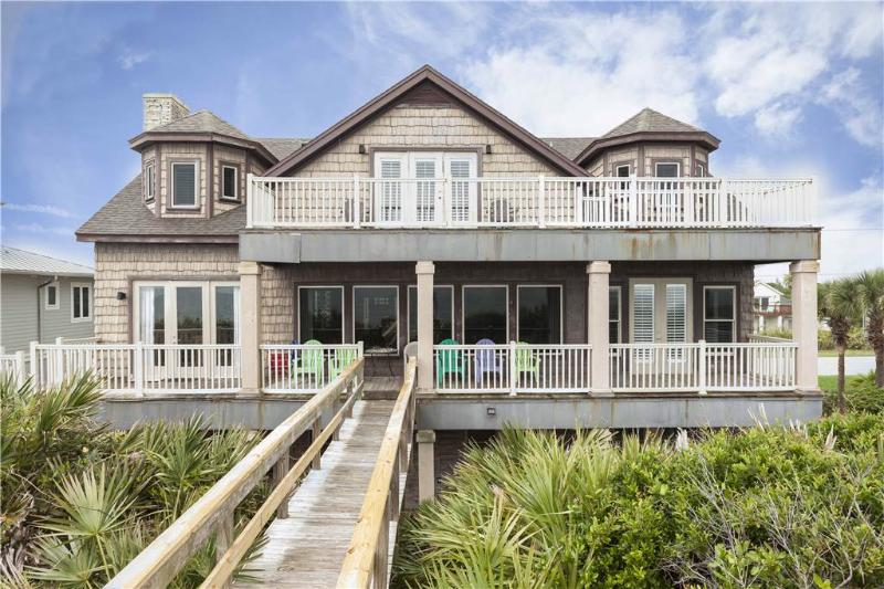 Getting Away Beach House,  5 Bedrooms, Ocean Front, Elevator, Sleeps 15 - Image 1 - Vilano Beach - rentals