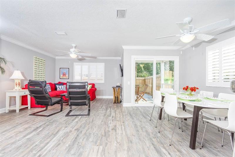 Chautauqua Palms D, 3 Bedrooms, one Bock to Beach, WiFi, Sleeps 8 - Image 1 - Saint Augustine - rentals