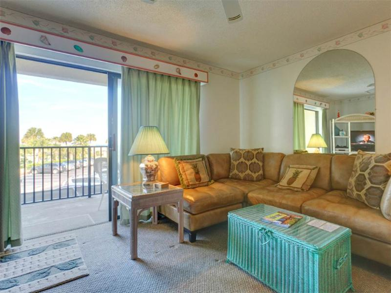 Ocean Villas 40, 2 Bedroom, Ocean View, Pool, WiFi, Sleeps 7 - Image 1 - Saint Augustine - rentals